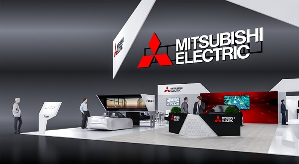 Exhibition Booth In Spanish : Mitsubishi electric to exhibit at ces 2019 in las vegas usa 2018